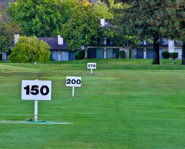 Increase 20-30 yards with the Swing Caddy or Hole in One